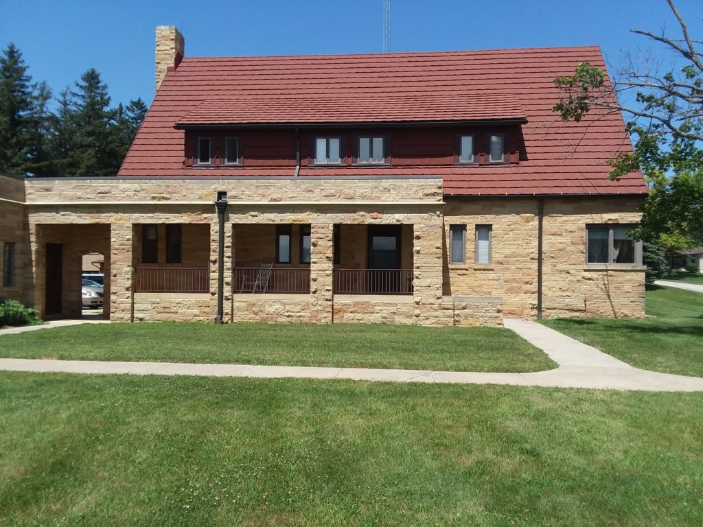 Stepping Stones Transitional Living Center is located in Vail, Iowa