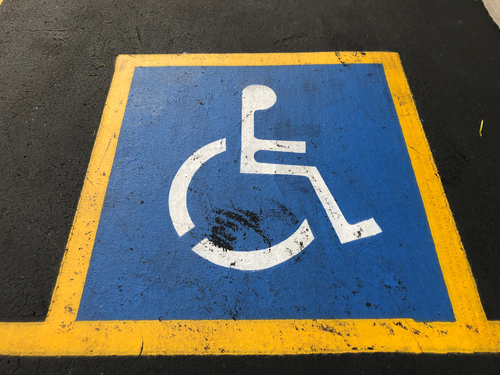 WESCO Industries' Americans with Disabilities Act (ADA) website disclaimer page display image